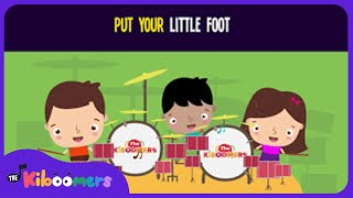 Put Your Little Foot Right There Song for Kids | Preschool Songs | Dance Song | The Kiboomers