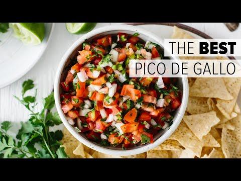 PICO DE GALLO | How to Make Authentic Mexican Salsa Recipe