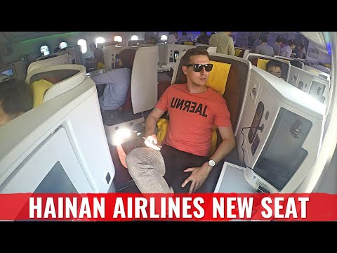 Flight Review: Hainan Airlines NEW Business Class Cabin on 787 Dreamliner