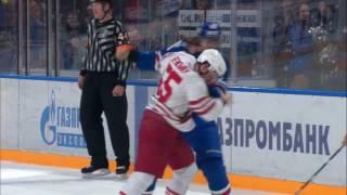 KHL Fight: Viktor Tikhonov VS Chay Genoway