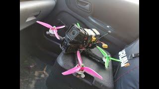 ????☢️ FPV Drone Freestyle   First Stickcam & DVR®️ ????☢️