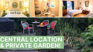 Victoria BC VRBO: Central 2 Bedroom Garden View Unit With Reviews