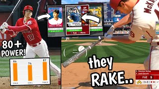 i used a team full of PITCHERS WHO RAKE.. and hit a GRAND SLAM? (mlb the show 20)