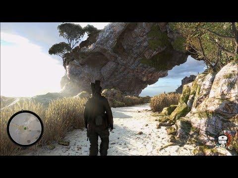 Sniper Elite 4 Gameplay (PS4 HD) [1080p60FPS]