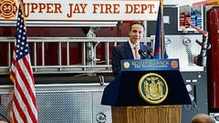 Governor Cuomo Announces Opening of New Upper Jay Fire Station Rebuilt After Hurricane Irene (Event)