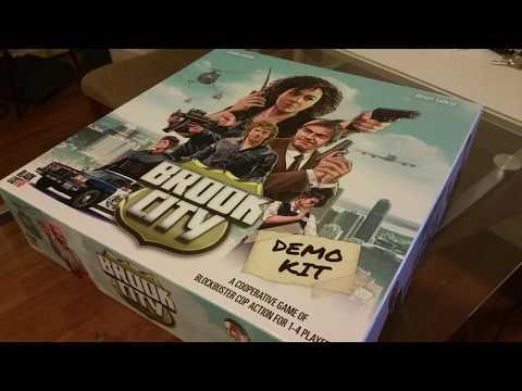 Boardgames & Bourbon: Brook City: Fully Described in 2 Minutes
