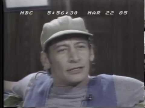 Jim Varney Performing Shakespeare's Hamlet on NBC Nightly News March 22, 1985