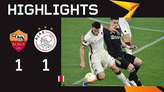 Short Highlights   AS Roma - Ajax   UEFA Europa League