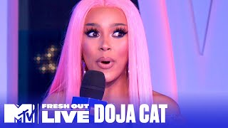 Doja Cat Talks New 'Say So' Music Video ft. VIRAL TikTok | #MTVFreshOut