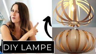 DIY Designer Lampe günstig und einfach selber machen - 30 € statt 300 €