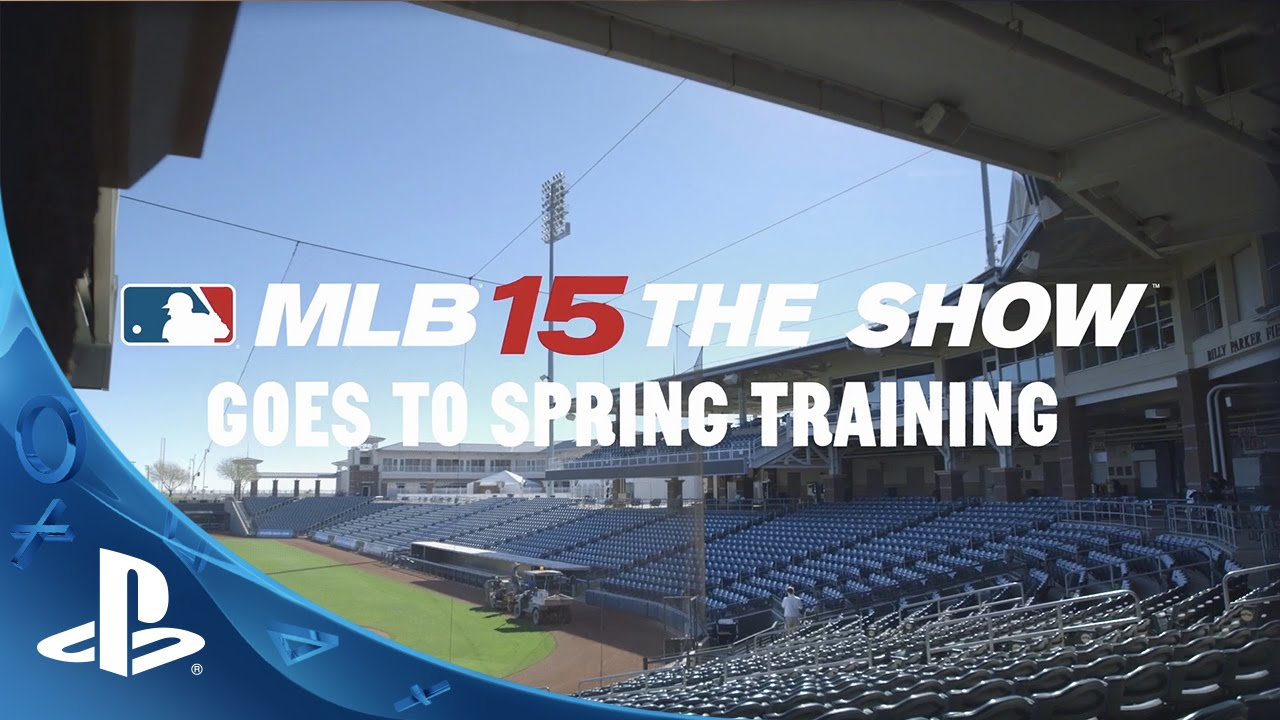 MLB 15 The Show Goes to Spring Training