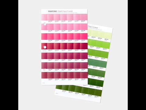 Pantone Solid Chips Supplement Coated & Uncoated Latest Ed