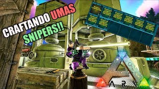 CRAFTANDO SNIPERS INSANAS!! --- ARK SMALL TRIBES #07