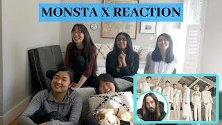 monsta x steve aoki play it cool reaction mashup - TH-Clip