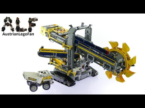 Lego Technic Bucket Wheel Excavator - Lego Speed Build Review