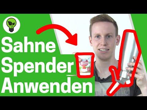 Sahnespender Anwendung ✅ ULTIMATIVE ANLEITUNG: Sahne & Schlagsahne selber machen? 👉 Sahnesyphon Isi