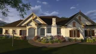 EUROPEAN HOUSE PLAN 1020-00071