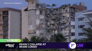 Rescue efforts underway to find 50 missing people in deadly Miami condo collapse