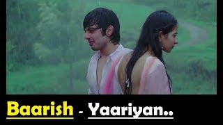 Baarish Yaariyan Lyrics Translation - Himansh   - YouTube