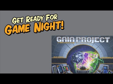 How to play Gaia Project. A complete video instruction