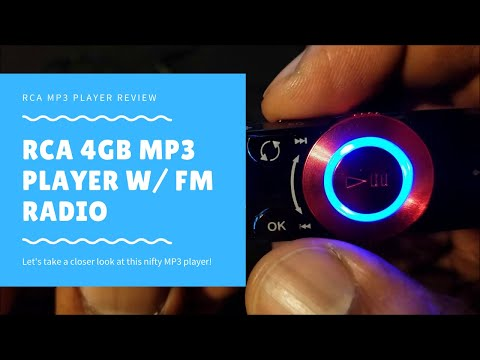 RCA 4 GB MP3 Player with Built-in USB Review
