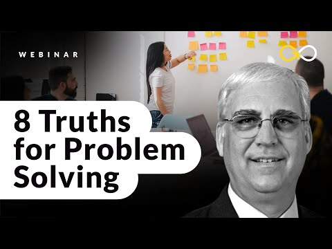 Lean Six Sigma Yellow Belt (8 Truths for Problem Solving) - YouTube