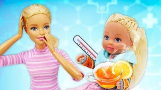 Puppen Video auf Deutsch - Barbie und Evi - 3 Folgen am Stück