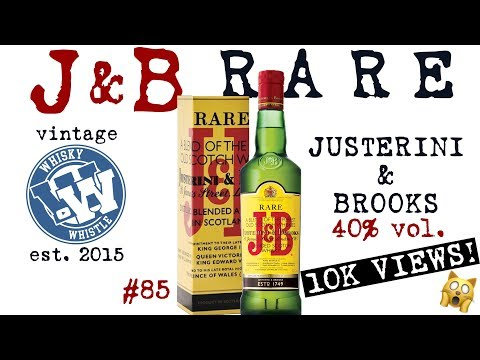 J&B Rare Blended Scotch Whisky: WhiskyWhistle Whisky Review 85