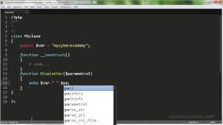 Tutorial PHP - 13 - Programación OO Clases