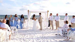 Destin Florida Beach Wedding | Dakota & Payton Destination Wedding