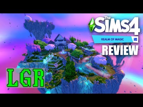 LGR - The Sims 4 Realm of Magic Review