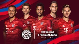 PES 2020 x FC Bayern Munchen - Partnership Announcement Trailer