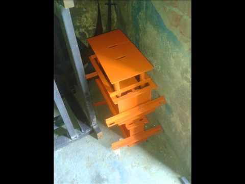 Manual Hydraulic 40 Ton Brick Making Machine