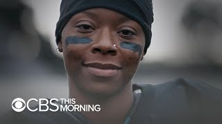 Toni Harris, featured in Super Bowl ad, aspires to be 1st female NFL player
