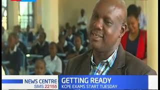 KCPE exam rehearsals underway in Kakamega, as candidates countrywide begin exams tomorrow