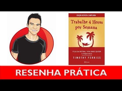 Trabalhe 4 horas por semana | Resenha prática | Timothy Ferris