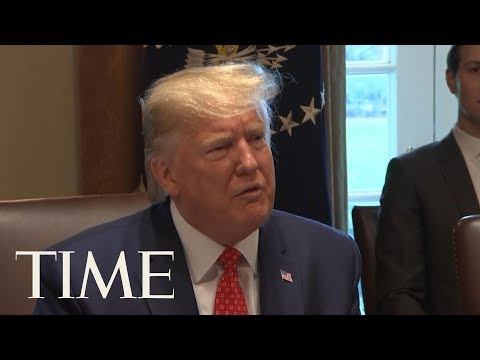 President Trump Comments On His Recent Unscheduled Hospital Visit   TIME