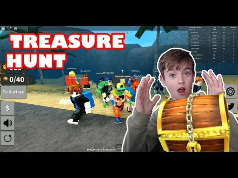 TREASURE HUNT SIMULATOR - ROBLOX