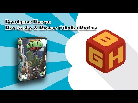 Boardgame Heaven How To Play & Review: Cthulhu Realms