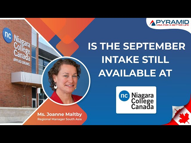 Is the September Intake still available at #Niagara college Canada?