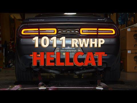 Dodge Challenger SRT Hellcat от Hennessey развивает четырехзначную мощность колеса
