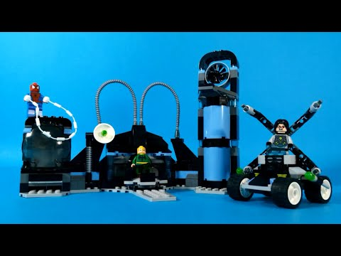 Vidéo LEGO Marvel Super Heroes 6873 : Spider-Man vs. Doc Ock