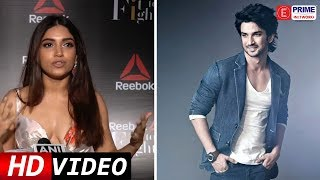 Bhumi Pednekar Seems To Be EXITED To WORK With Sushant SIngh Rajput | E Prime Network