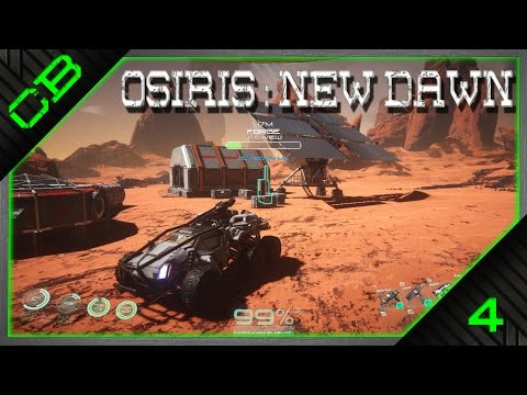 Osiris: New Dawn Gameplay - G.A.V. Vehicle, Diamond & Lithium! - Ep4
