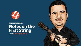 Cuatro Beginner Lessons: Notes on the First String   4Jibaro   Cuatro Puertorriqueño