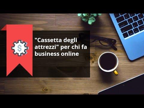 Cassetta degli attrezzi per il business online: gli strumenti che ti servono
