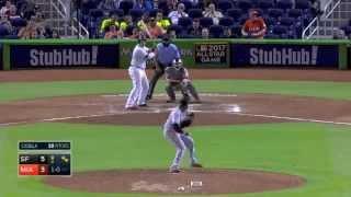 Justin Bour 2018 Home Runs