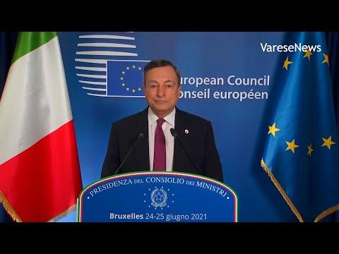 """Draghi: """"Variante Delta è rischio per la ripartenza, facciamo attenzione"""""""