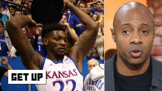How will Kansas' Silvio De Sousa be punished for picking up a chair during the brawl? | Get Up