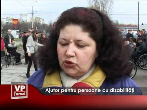 Ajutor pentru persoane cu dizabilităţi
